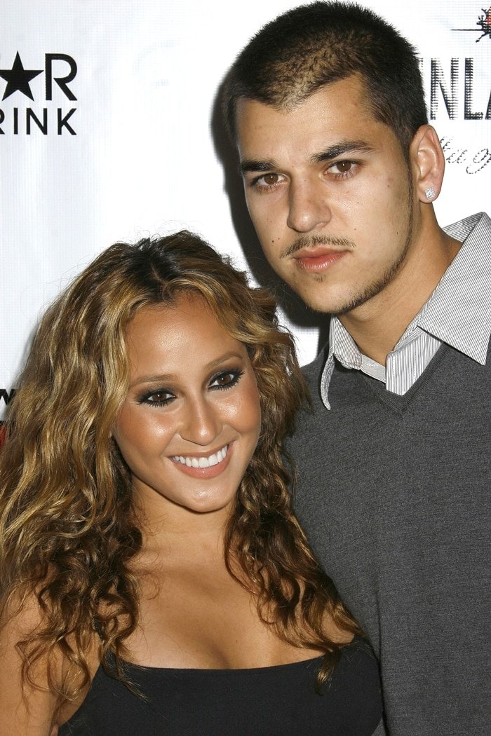 Adrienne Bailon and Rob Kardashian appeared together on many episodes of Keeping Up With the Kardashians