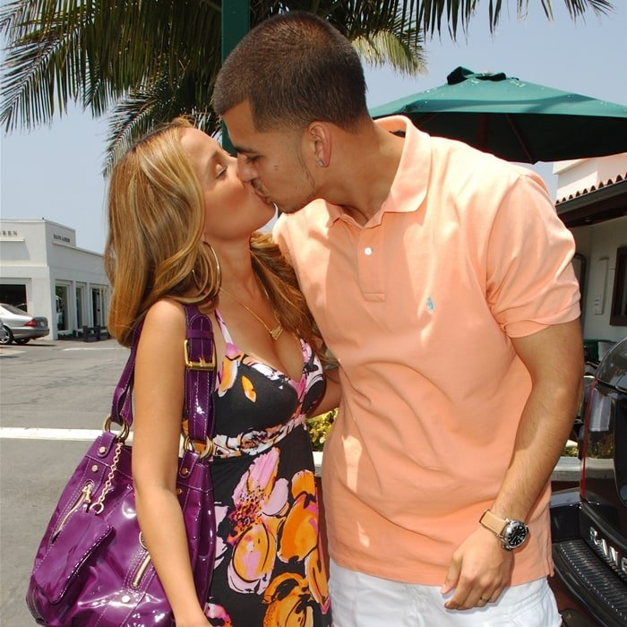 Rob Kardashian and Adrienne Bailon dated from 2007 to 2009