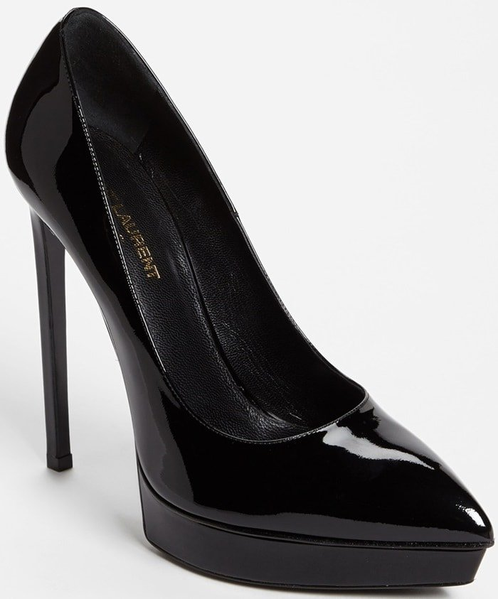 "Saint Laurent ""Janis"" Pumps in Black"