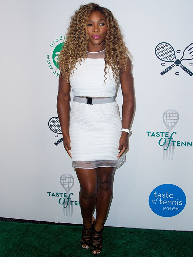 Serena Williams at the 15th Annual Taste of Tennis Gala held at W Hotel in New York City on August 21, 2014