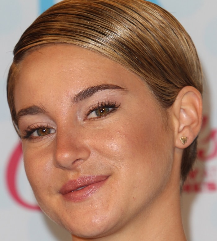 Shailene Woodley at Fox's 2014 Teen Choice Awards at the Shrine Auditorium in Los Angeles on August 10, 2014