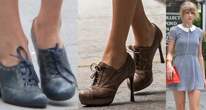 Heeled Oxford Shoes Continues