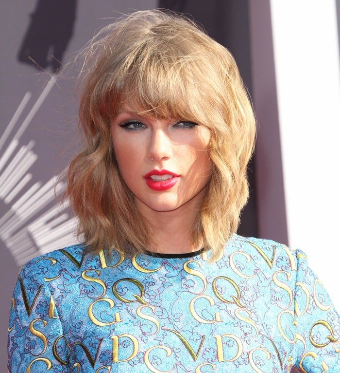 Taylor Swift at the 2014 MTV Video Music Awards at The Forum in Inglewood, California, on August 24, 2014