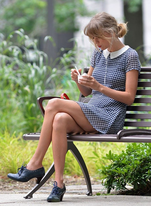 Taylor Swift at Central Park in New York City on August 1, 2014
