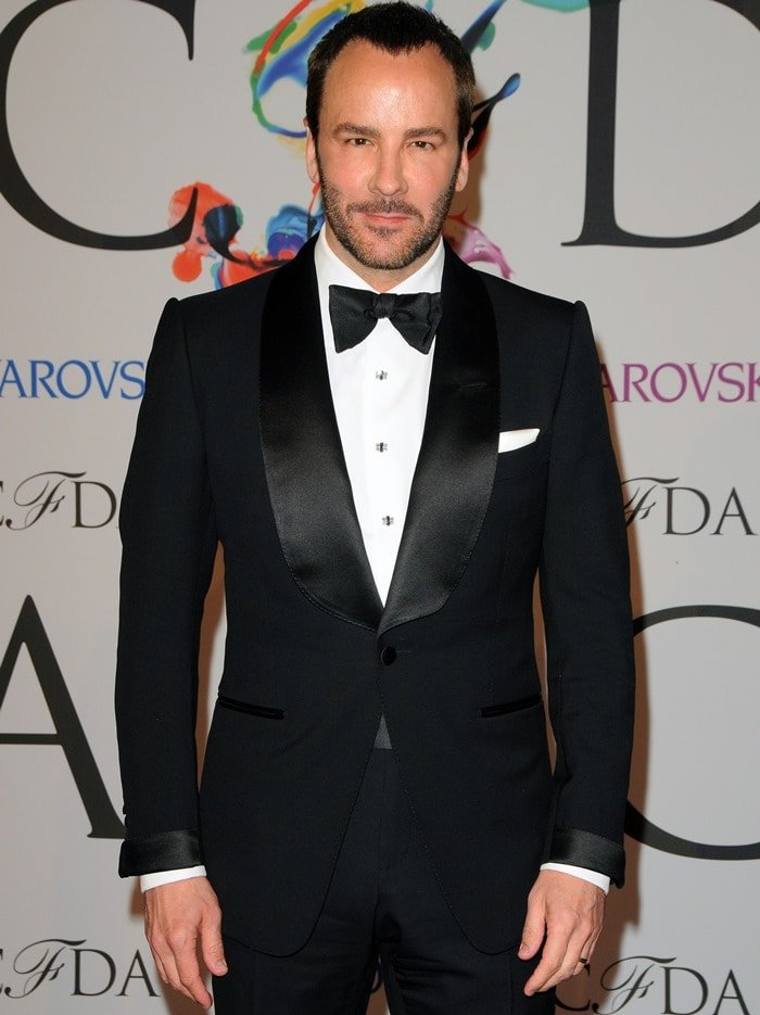 Tom Ford, the celebrated American fashion designer and film director