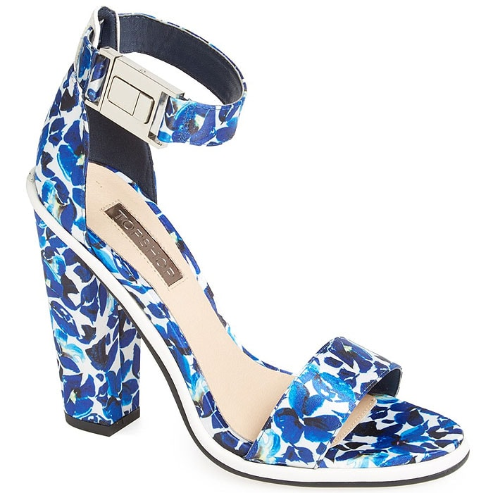 Topshop Rosemary print sandals