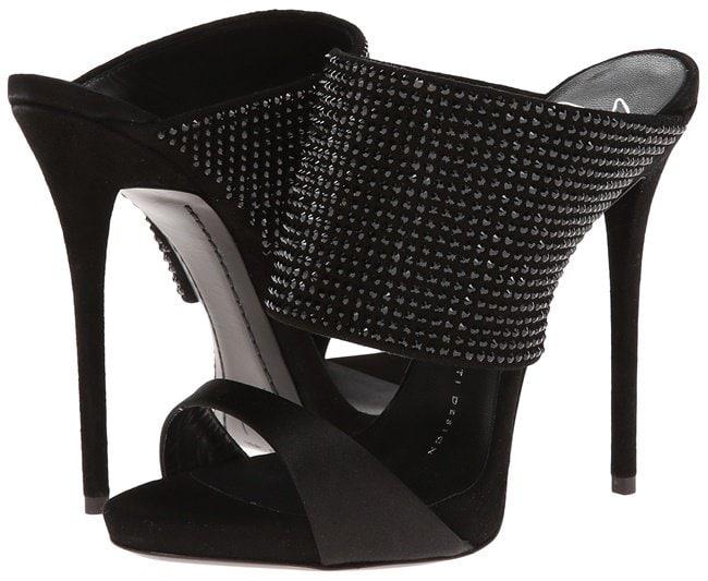 Giuseppe Zanotti Crystal-Embellished Slip-On Sandals
