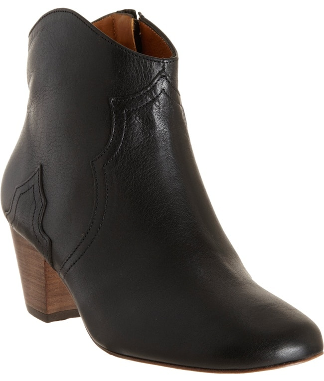 Isabel Marant Dicker Boots in Black