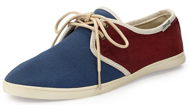 Soludos Woven Sand Sneakers in Colorblock