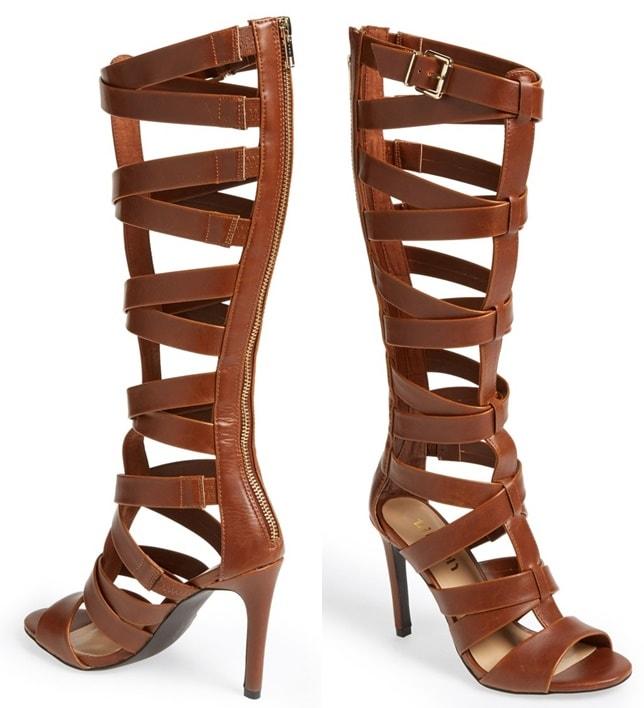 Tildon Knee-High Gladiator Sandals