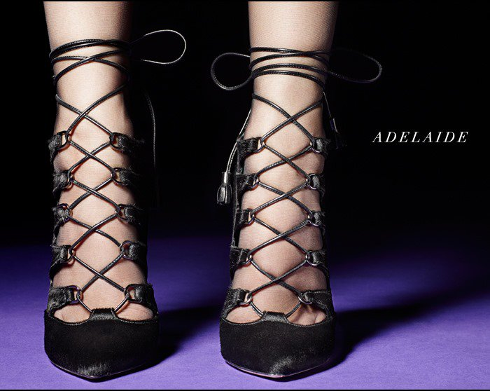 "Brian Atwood ""Adelaide"" Heels Black"
