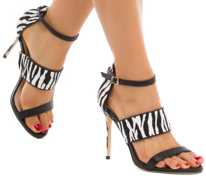 Alezae Ankle-Strap Sandals