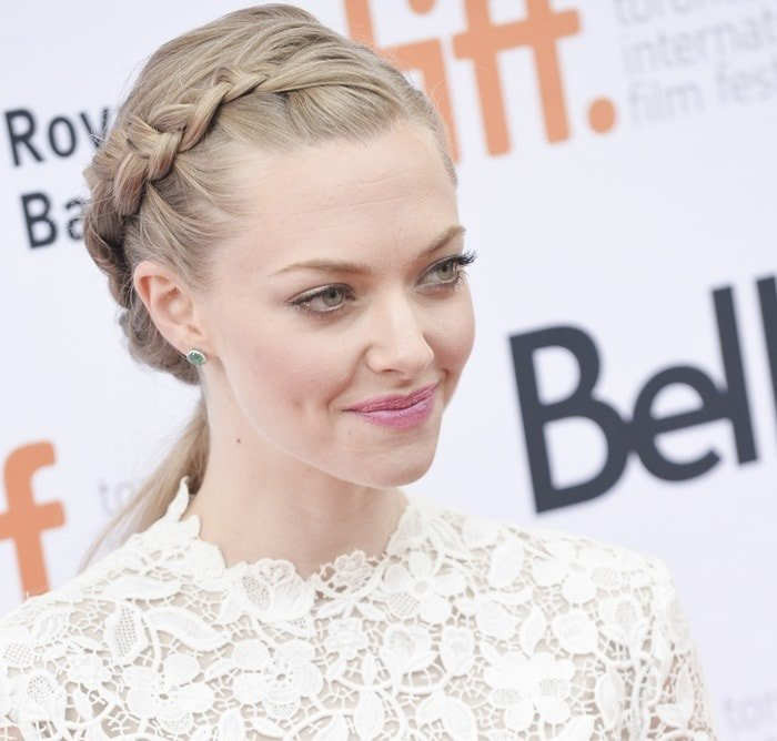 Amanda Seyfried at the While We're Youngpremiere at the Toronto International Film Festival