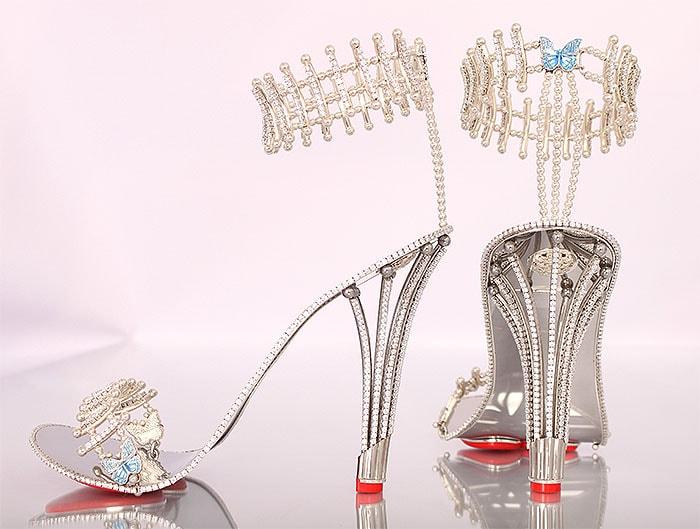 Borgezie Princess Diamond Constellation Stilettos