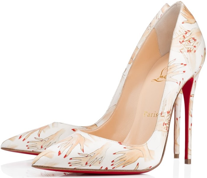 "Christian Louboutin ""So Kate"" in Beige"