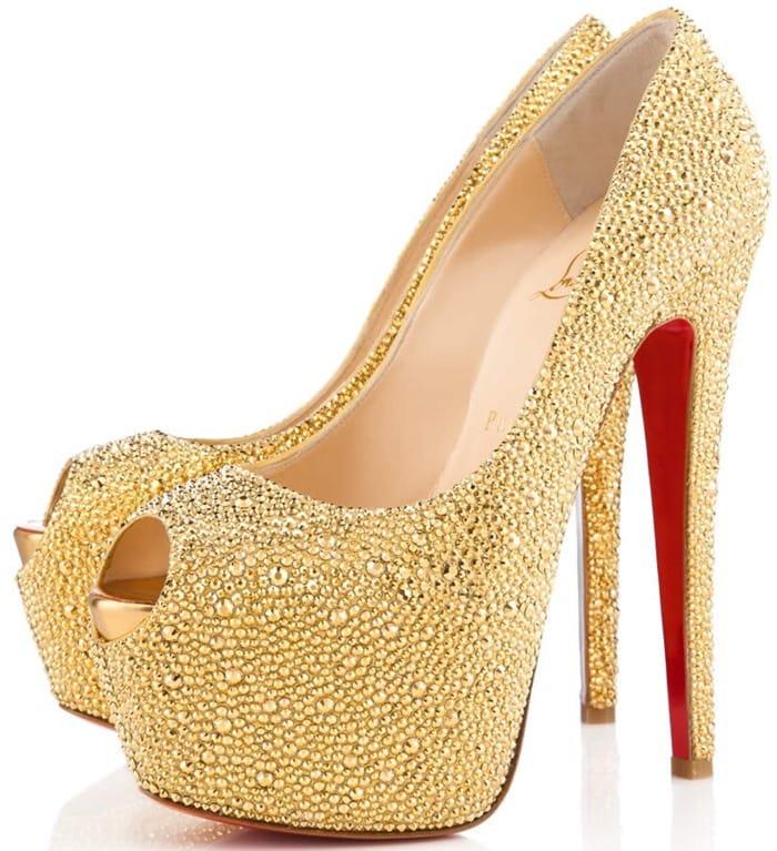 Christian Louboutin Gold Highness