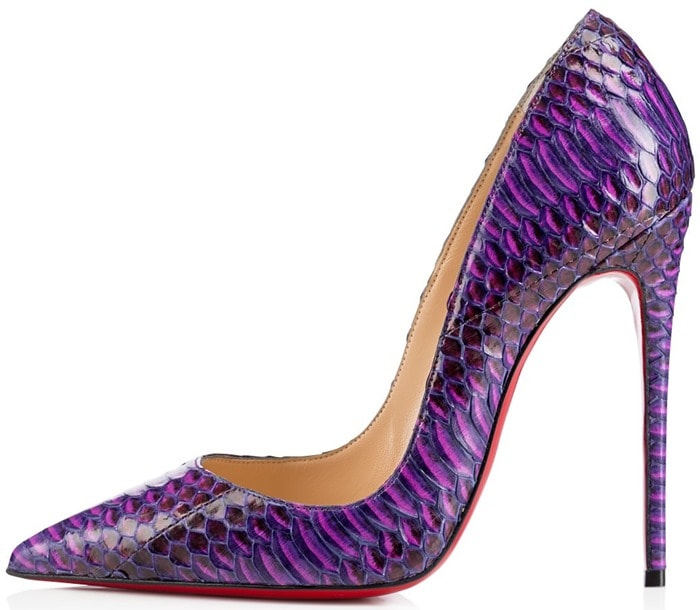 Christian Louboutin Purple So Kate