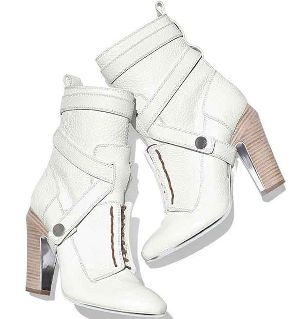 "Fendi ""Diana"" Halter-Strap Ankle Boots"