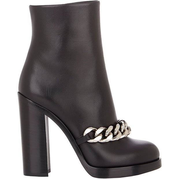 """Givenchy """"Mirta"""" Chain-Link Ankle Boots"""
