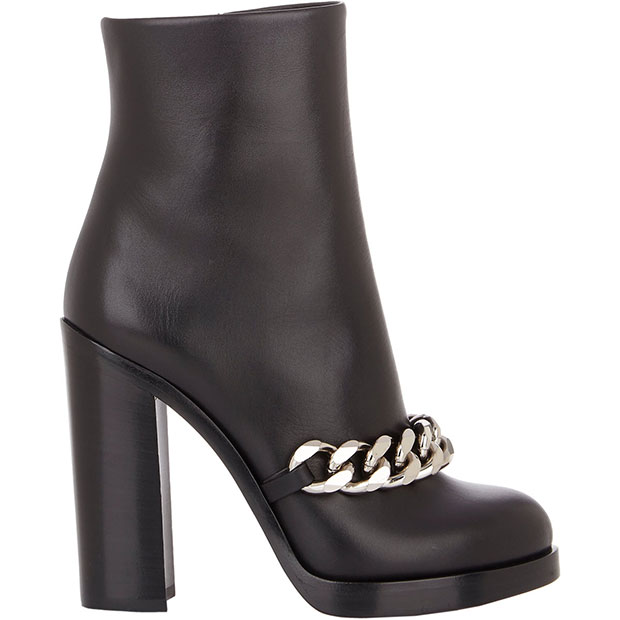 "Givenchy ""Mirta"" Chain-Link Ankle Boots"