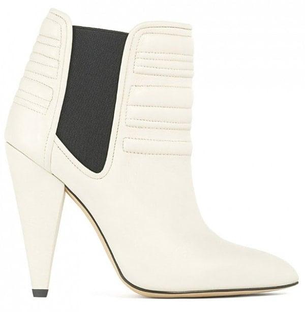 "IRO ""Klara"" Ankle Boots in White"