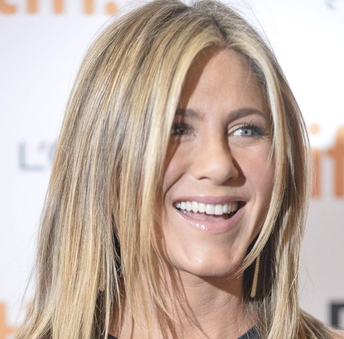 Jennifer Aniston at the premiere of 'Cake' at the 2014 Toronto International Film Festival