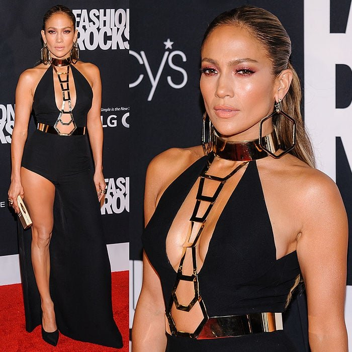 Jennifer Lopez arriving at Fashion Rocks 2014 held at the Barclays Center of Brooklyn in New York City on September 9, 2014