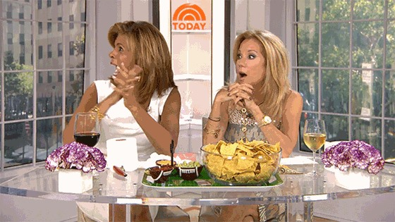Kathie Lee and Hoda seemed genuinely surprised to see Jennifer Lopez
