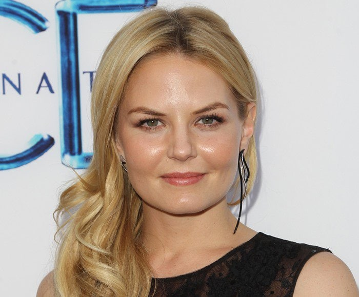 Jennifer Morrison at the screening of ABC's Once Upon a Time Season 4 at the El Capitan Theatre in Los Angeles on September 21, 2014