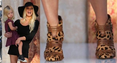 """fd290f65c3 Jessica Simpson Takes a Bow in """"Carlin"""" Pumps at Nordstrom Fashion Show"""