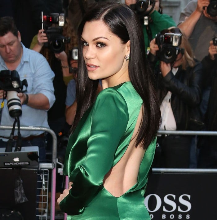 Jessie J at the GQ Men of the Year Awards