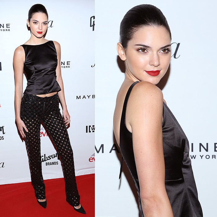 Kendall Jenner Fashion Media Awards 2014