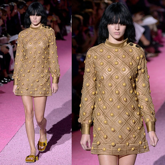 Kendall Jenner in the Marc Jacobs Spring 2015 fashion show