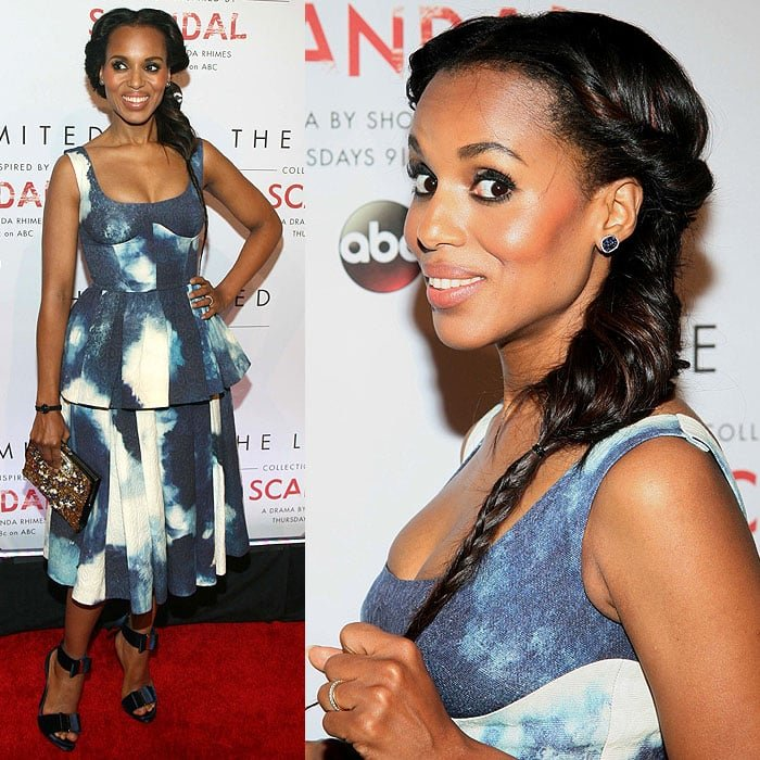 Kerry Washington at the launch of The Limited Collection inspired by Scandal