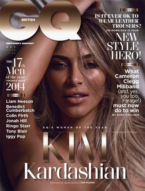 Kim Kardashian GQ Magazine