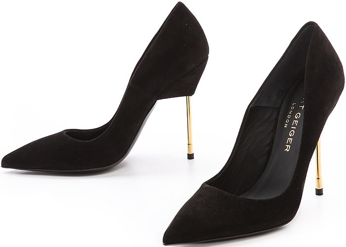 Kurt Geiger Britton Suede Pumps