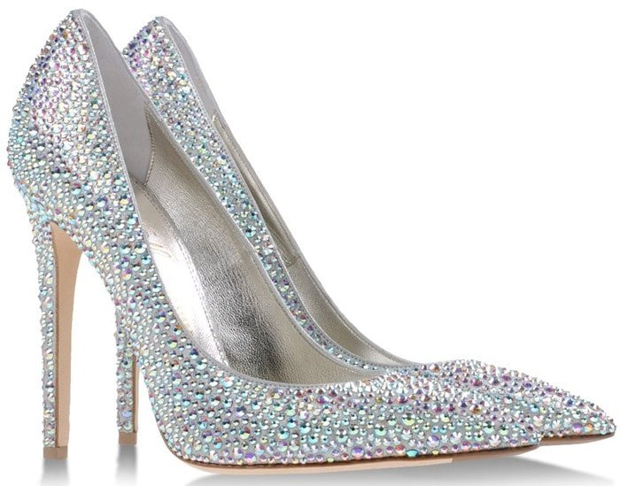 Le Silla Glitter Pumps