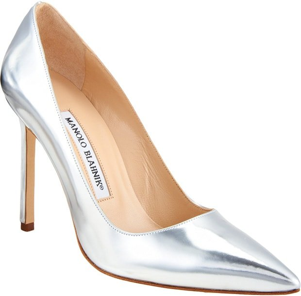 "Manolo Blahnik Specchio ""BB"" Pumps"