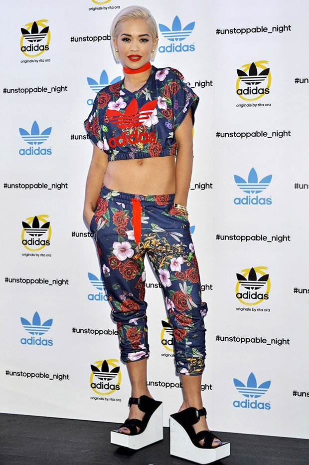 Rita Ora at the launch of the Adidas Originals by Rita Ora in Tokyo, Japan, on September 19, 2014