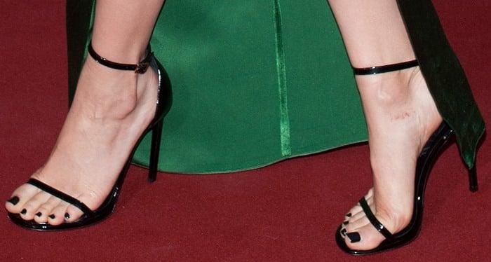 Jessie J In Jean Paul Gaultier Dress And Saint Laurent