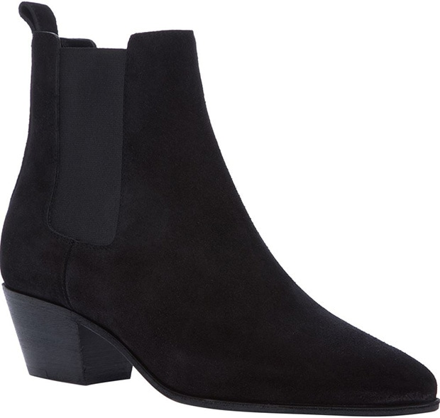 Saint Laurent Wyatt 40 Ankle Boots