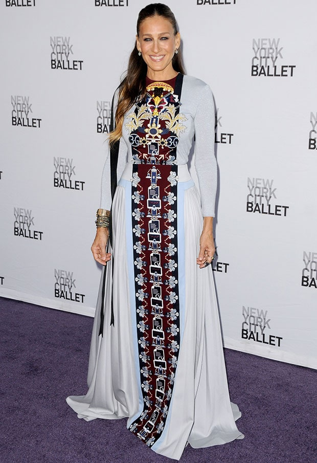Sarah Jessica Parker at the New York City Ballet 2014 Fall Gala held at the David H. Koch Theater at Lincoln Center in New York City on September 23, 2014