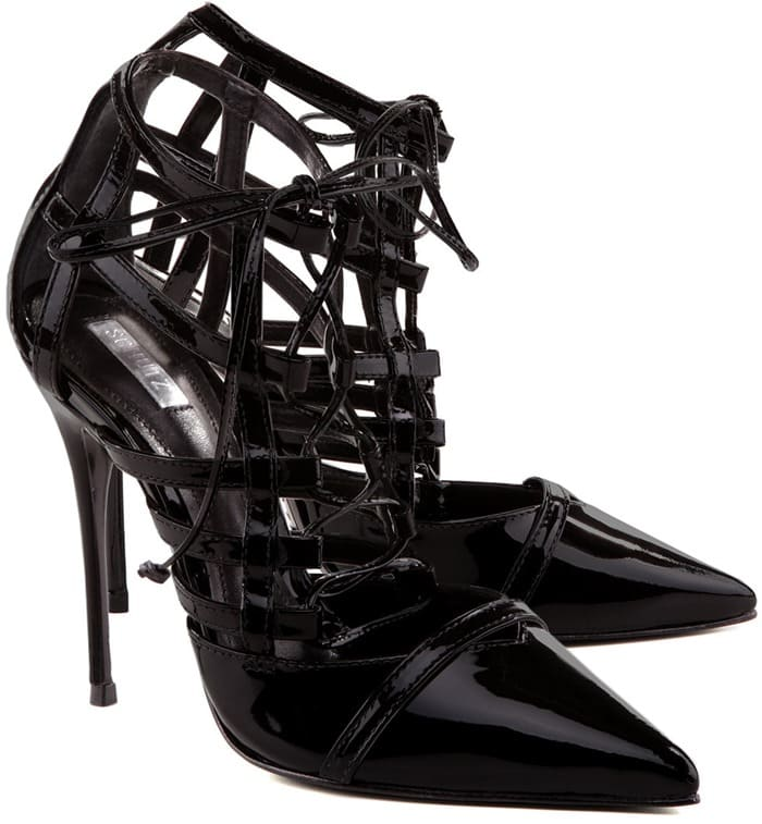 """Schutz """"Buthayna"""" Lace-Up Pumps"""