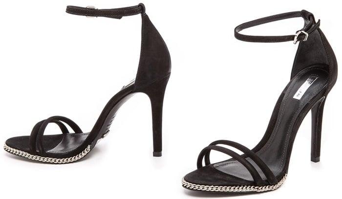Schutz Panteria Suede Sandals