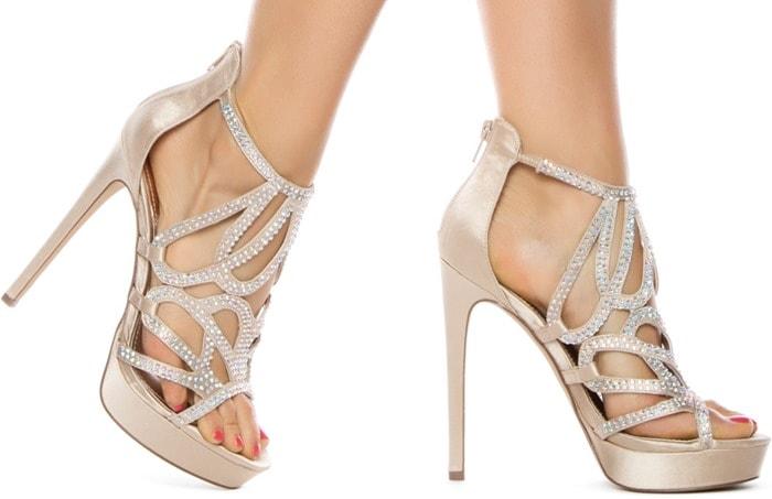 Singer Cutout Sandals