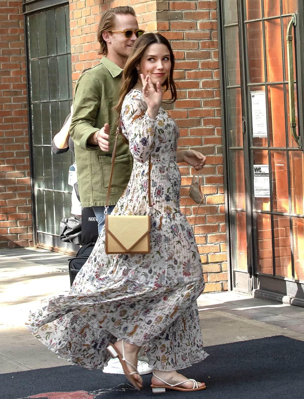Sophia Bush got engaged to her boyfriend Grant Hughes during a romantic Italian getaway