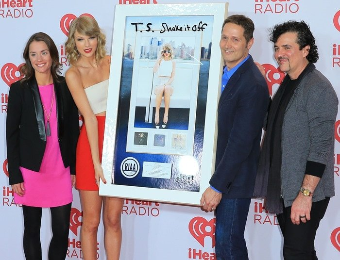 Taylor Swift at the 2014 iHeartRadio Music Festival at the MGM Grand Garden Arena in Las Vegas on September 19, 2014