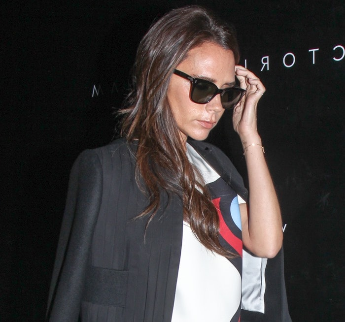 Victoria Beckham Counts Down To Store Opening In Azzedine
