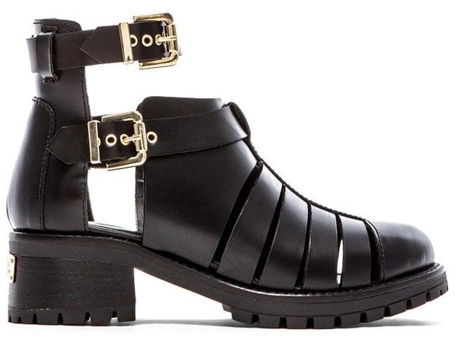 Chiara Ferragni Cutout Combat Boots
