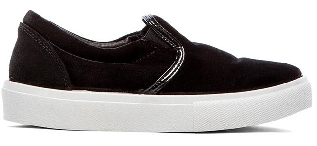 Chiara Ferragni Velvet Slip-On Sneakers